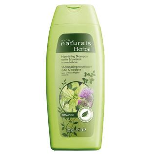 Avon   VLASOVÁ STAROSTLIVOSŤ - Šampóny - Vyživujúci šampón na slabé a  krehké vlasy so žihľavou a lopúchom 8df6f425ce7